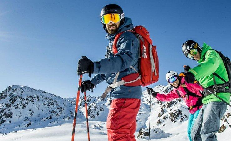 Frühlingsskilauf in Tirol