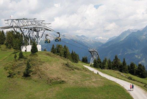 Penkenbahn im Zillertal Gondel