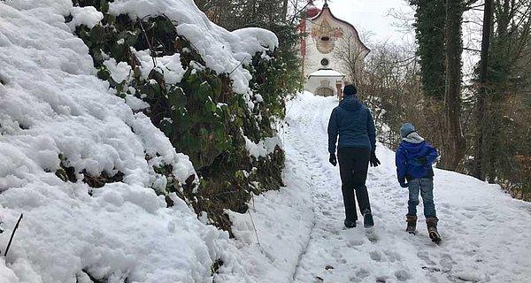 Spaziergang Maria Brettfall
