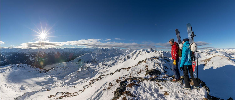 Begehung Alpinsteig Hochzillertal