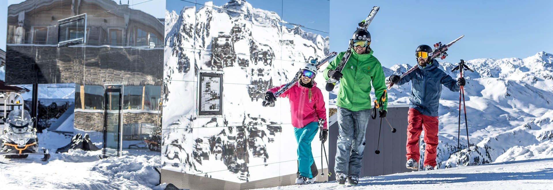 Skigebiet Hochzillertal Kristallhütte