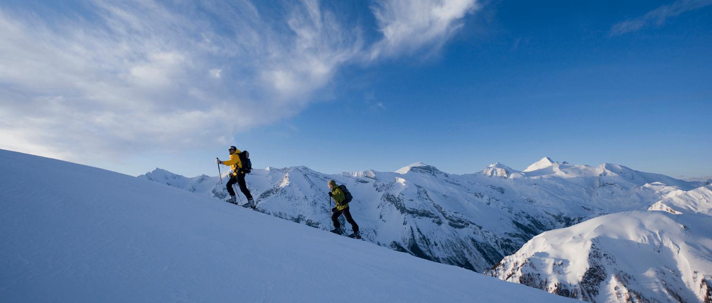 Winterwanderung mit Bergpanorama