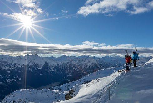 Begehung Alpinklettersteig Hochzillertal