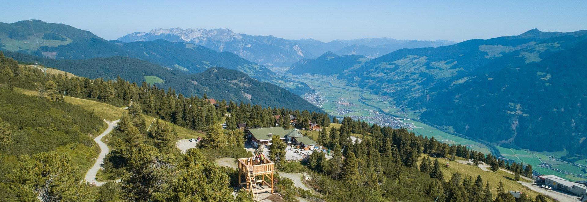 Panorama Hubertus Wildtierpfad