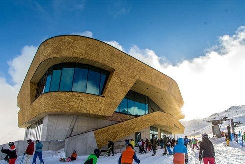 Bergstation Mountain Loft im Skigebiet Spieljoch