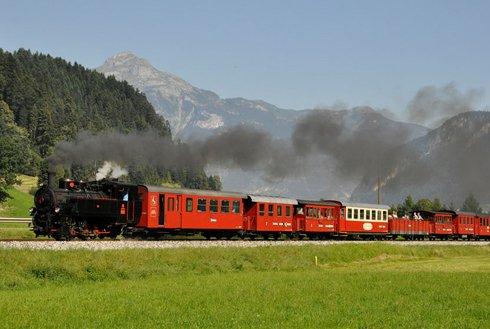 Zillertalbahn Dampfzug
