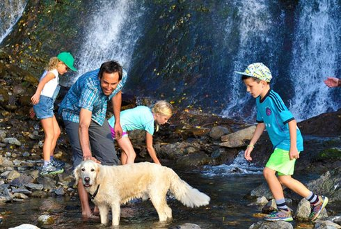 Schleierwasserfall in Hart im Zillertal