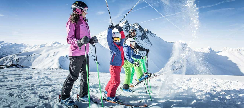 So wird Skiurlaub mit Kindern chillig