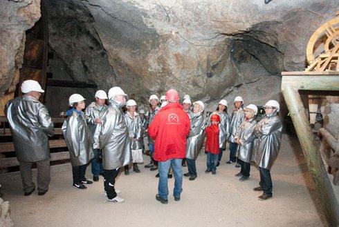 Silberbergwerk Schwaz Bergbau