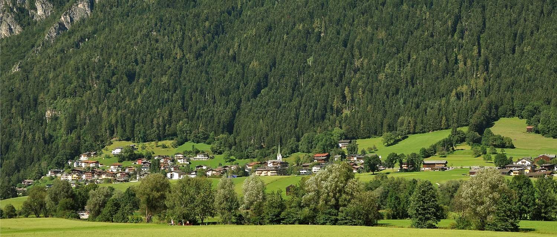 Sommerpanorama Bruck im Zillertal