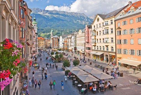 Altstadt Innsbruck im Sommer
