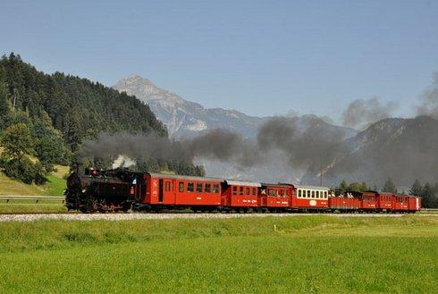 Dampflok Zillertalbahn