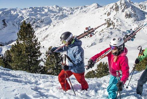 Skigebiet Hochzillertal Powder