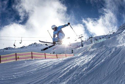 Funline Skigebiet Spieljoch Freeskier