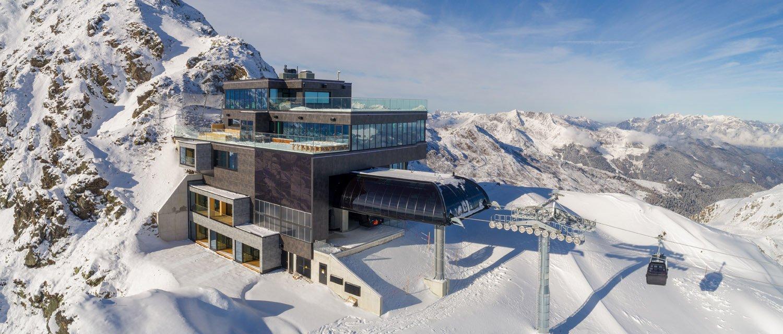 Skihütten im Zillertal