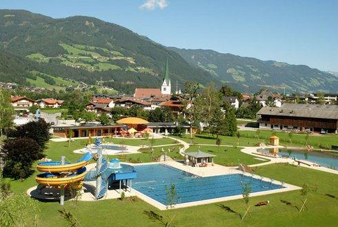 Freibad in Stumm im Zillertal