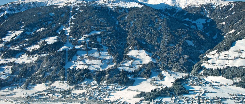 Ortsansicht Kaltenbach im Winter