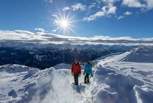 Alpinsteig Hochzillertal Schönwetter