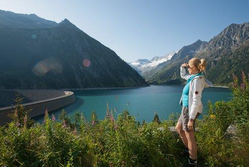 Wanderung Schlegeis Stausee Zillertal