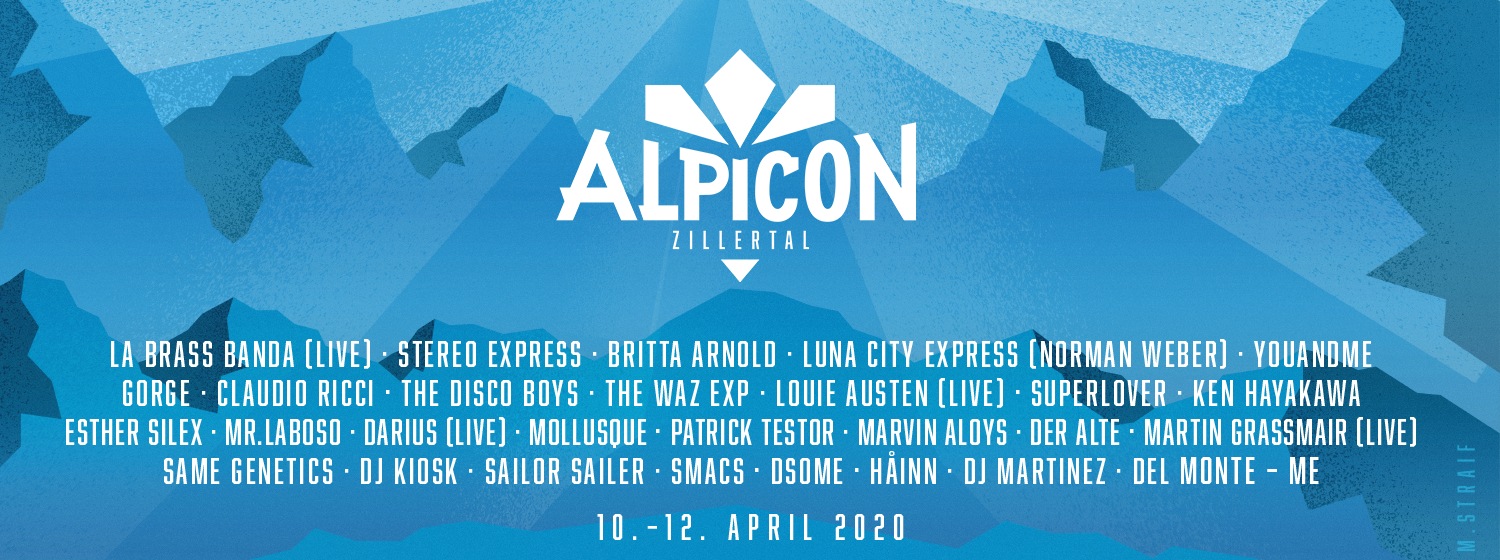 Lineup Alpicon Event Zillertal