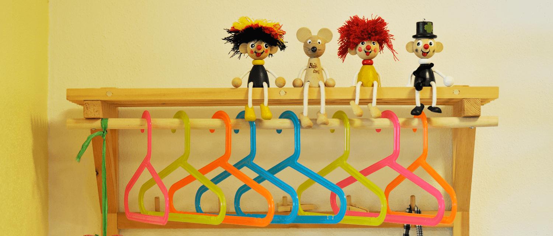 Gästekindergarten Zillertal Spielzeug Männchen
