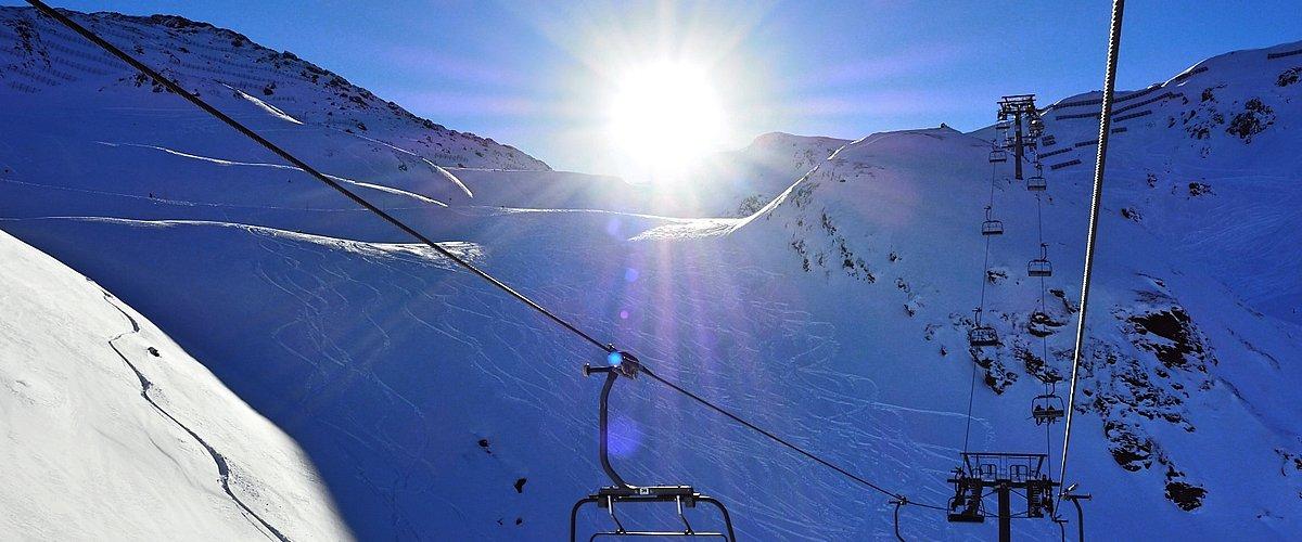 Skitag in Hochfügen im Zillertal