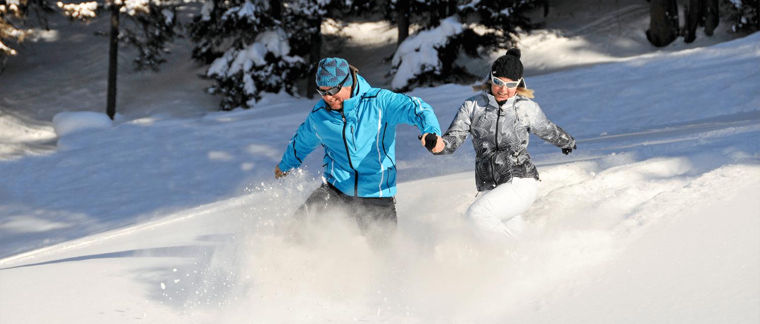 Zillertal Winterwanderungen Spaß