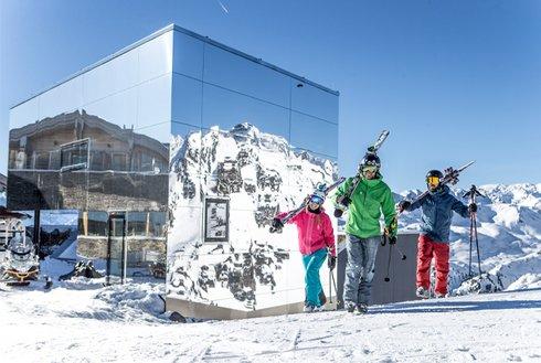 Skigebiet Hochzillertal Kristallhütte Schönwetter