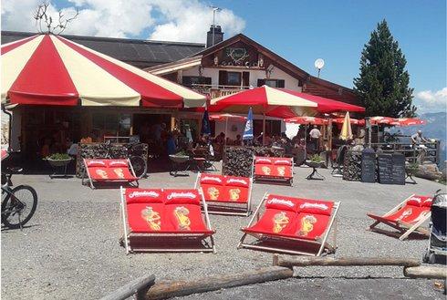 Hütten auf der Panoramastraße im Zillertal