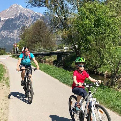 Zillerradweg, Familienradweg, Radweg Zillertal