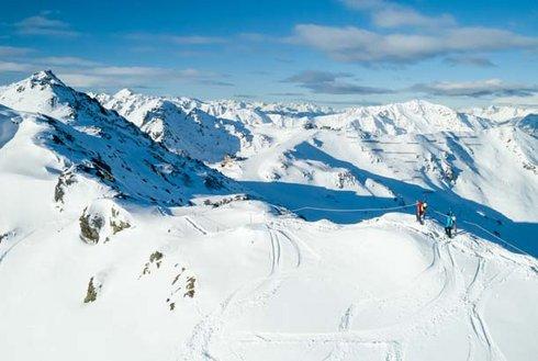 Alpinsteig Hochzillertal aus der Vogelperspektive