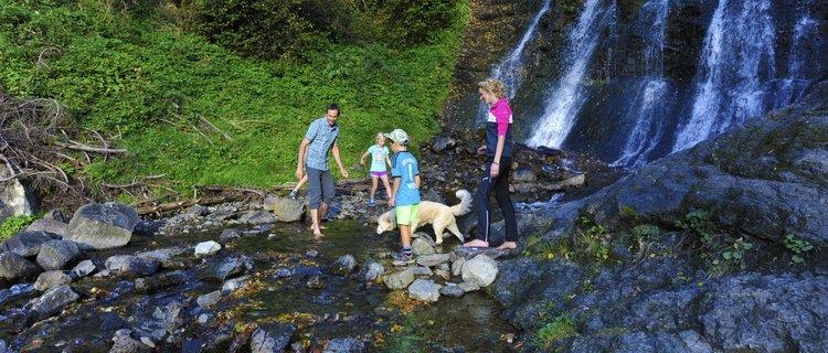 Schleierwasserfall in Hart
