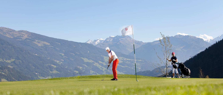 Golf school Zillertal