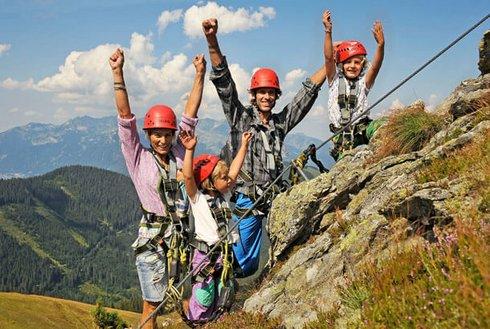 Klettern mit Kindern Spieljoch