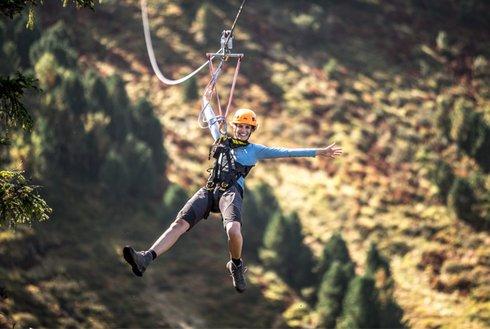 Spaß und Action bei Flying Fox