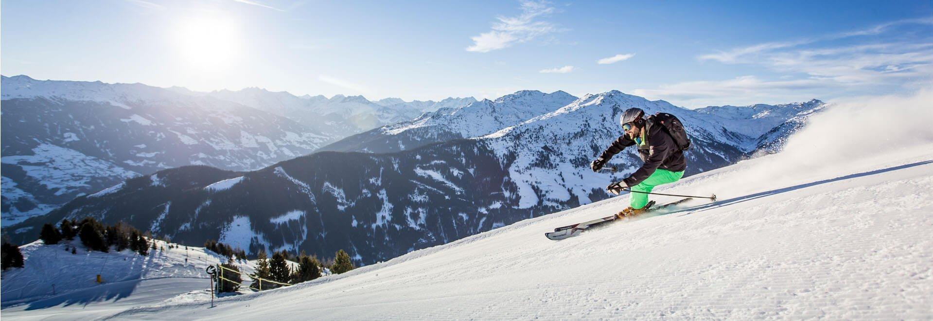 Skifahren Spieljoch Zillertal
