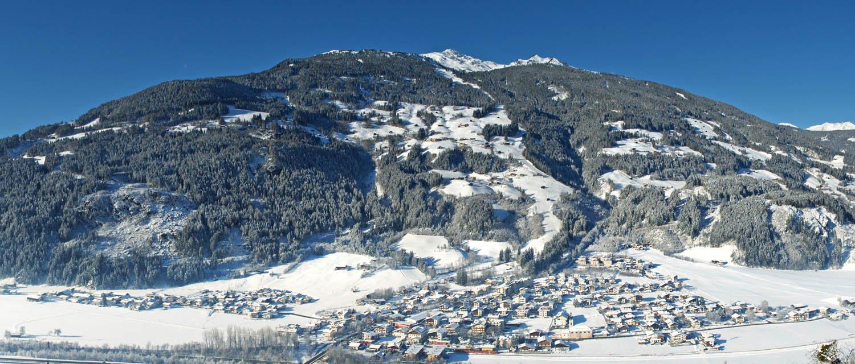 Winterpanorama Aschau