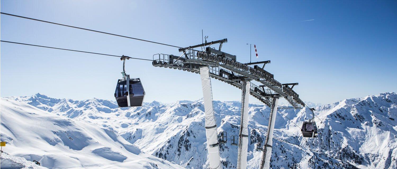 Gondel Skigebiet Hochfügen-Hochzillertal