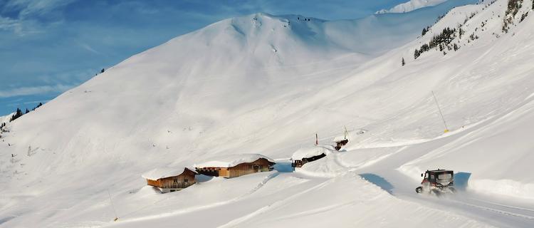 Winterpanorama Spieljoch