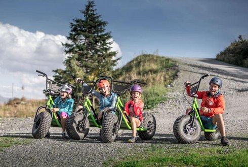 Familientour mit Monsterroller im Zillertal