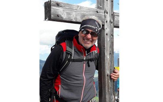 Bergwanderführer Christop Todeschini