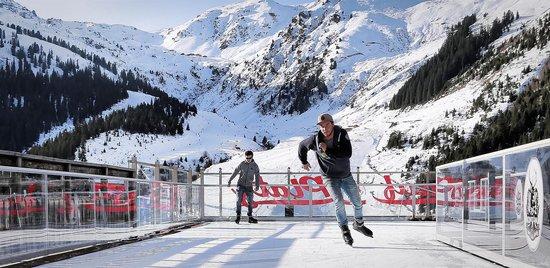 Eislaufplatz Montana Hochfügen 1