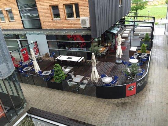 Pizzeria_Restaurant_Villaggio_Außenansicht