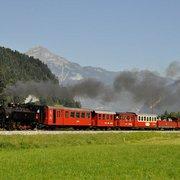 Zillertaler Dampfzug (steam train) 2021